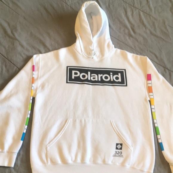 Polaroid Other - White Polaroid hoodie